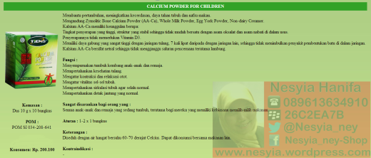 Nutrient Calsium Powder